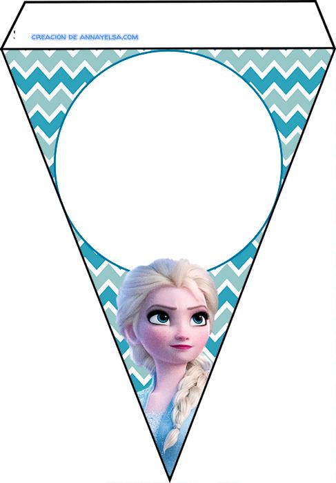 Candy bar de Frozen 2 para imprimir
