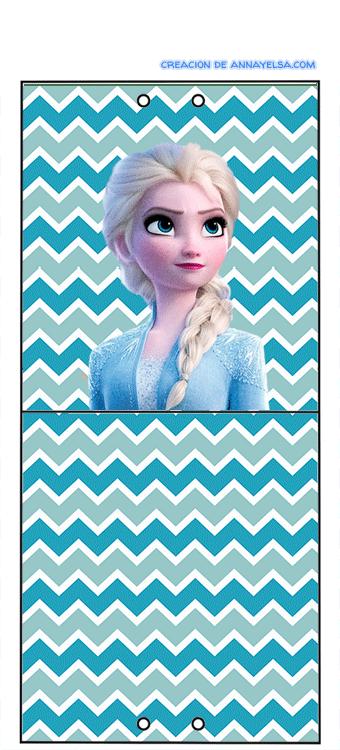 Candy bar de Anna Frozen II Descarga Gratis
