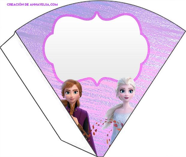 Conos dulceros Frozen