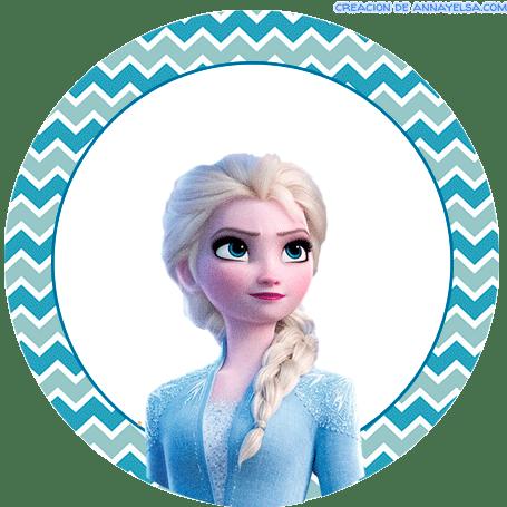 Frozen 2 Anna Stickers