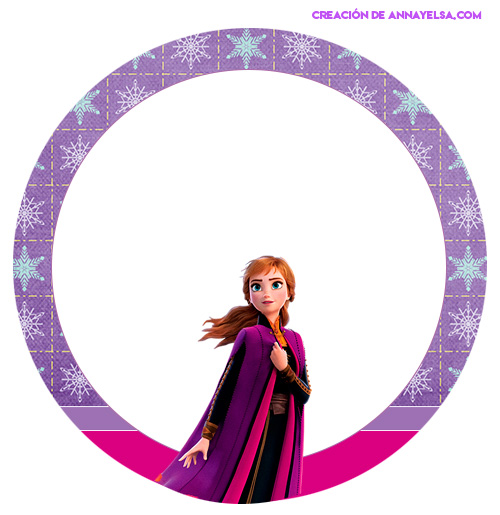Free Stickers Anna Frozen