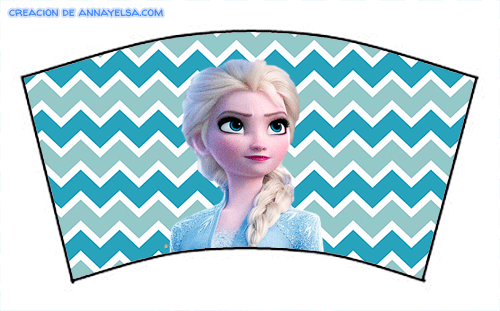 Wrappers Frozen II Anna