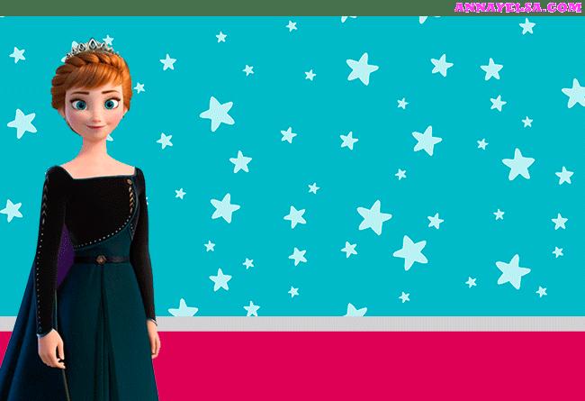 Kit imprimible Anna Frozen 2