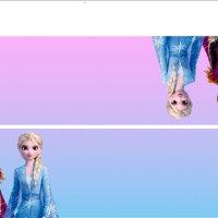 Moldes de Cierrabolsas de Elsa y Anna