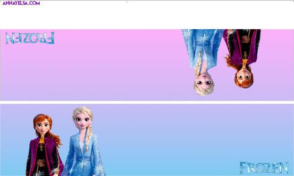 Cierrabolsas Elsa y Anna