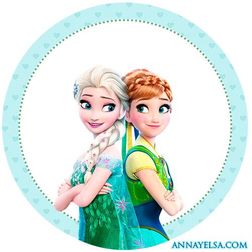 Etiquetas de Frozen II