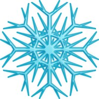Moldes estrellas de Frozen congelada