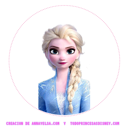 Frozen 2 Stickers Circulares