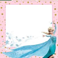 Kit Imprimible Elsa Frozen para descargar gratis