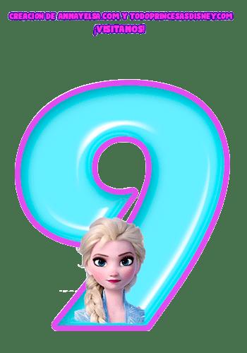 Numeros de Frozen Numbers