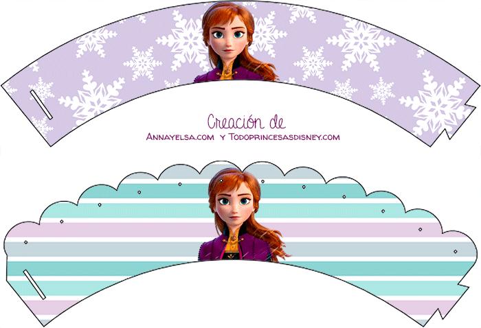 Kits Imprimibles Anna Frozen 2 descarga gratis