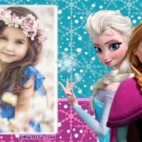 Fotomontaje de Frozen para editar gratis