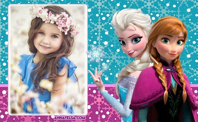 Fotomontajes de Frozen