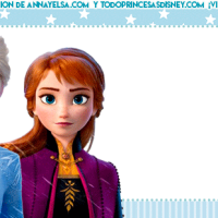 Kit Imprimible de Frozen II Descarga gratis