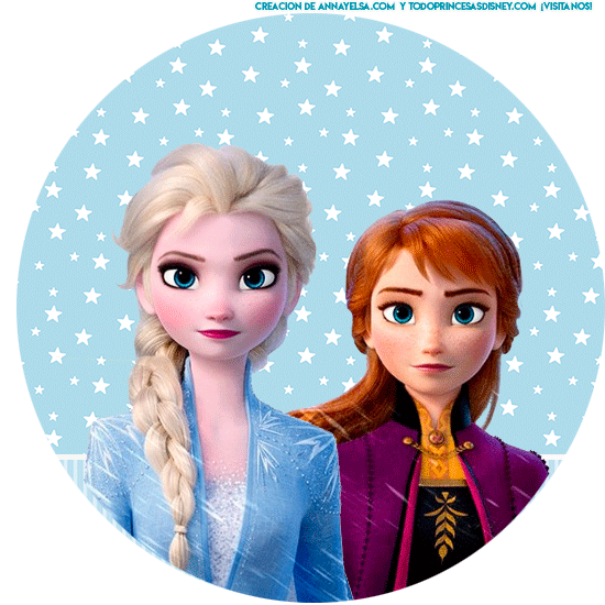 Stickers Free frozen 2