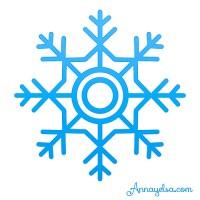 Copo De Nieve Frozen Texturizado Frozen Snow Snowflake