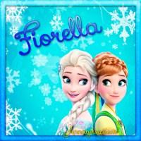 Imágenes de Frozen con nombre: Letra F