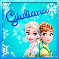 Imágenes de Frozen con nombre: Letra G