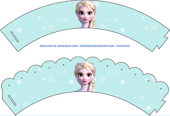 Wrappers Frozen para imprimir