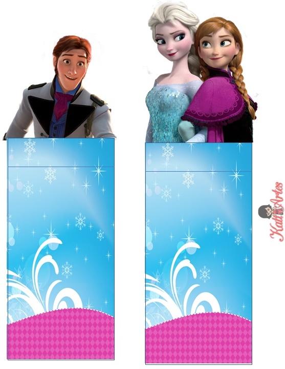 Imprimibles Candy bar Frozen para descargar gratis