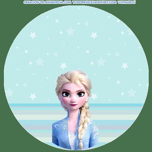 Elsa Frozen 2 Decoracion cumpleanos