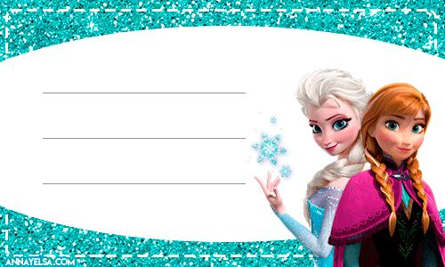Elsa Anna Frozen free printables