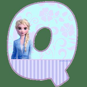 Frozen letters