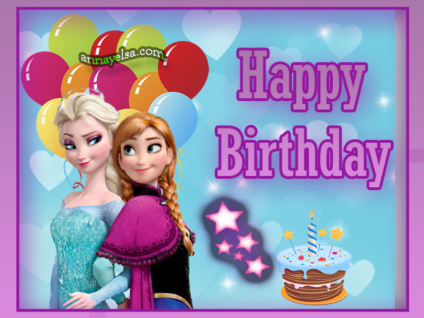 Frozen Feliz CUMPLE FROZEN Happy Birthday
