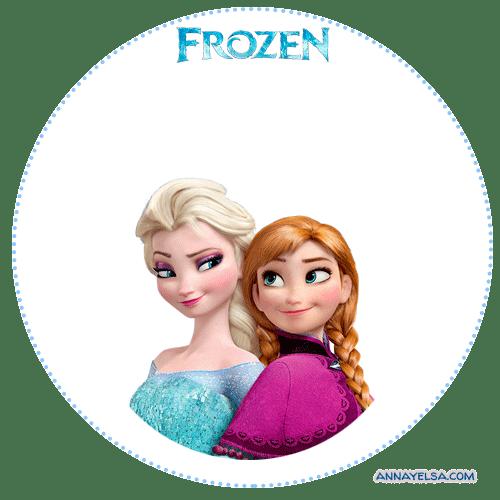 Frozen Stickers Etiquetas