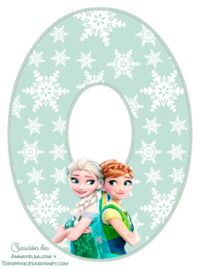 0 Numeros de Frozen 2 para imprimir gratis