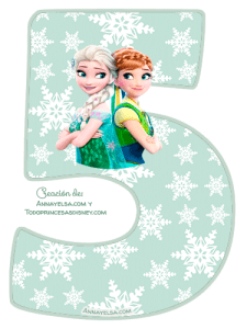 5- Frozen fever numbers