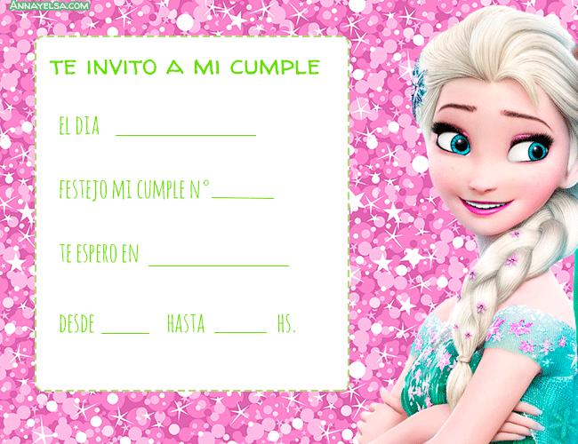 Reina Elsa convites