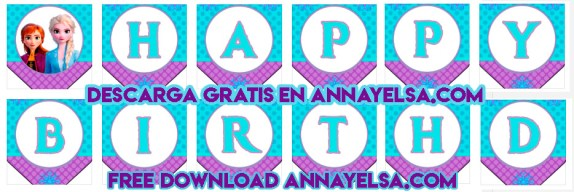 Happy Birthday Banner Free Download