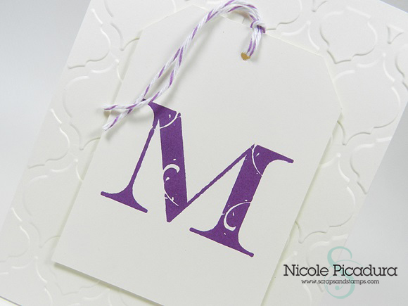 EZ-De's Flourish Monogram Cards