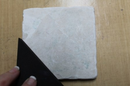 Faux Quilted Marble Coaster Ann Butler Designs 1