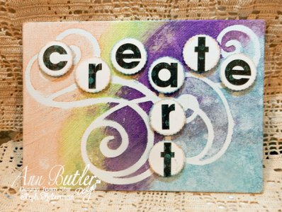 Create ART Iridescents Canvas Panel