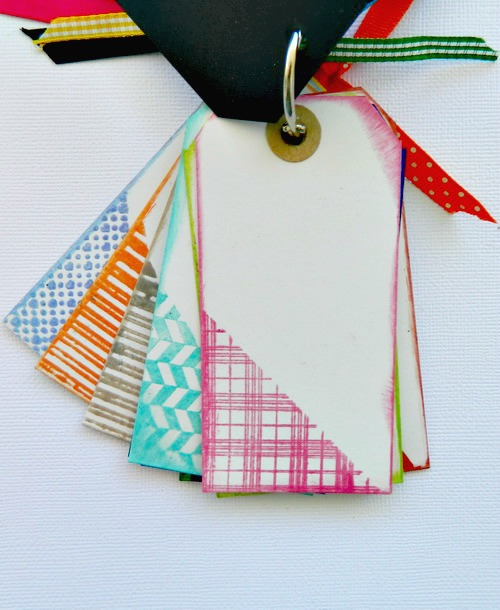 Ann Butler's Crafter's inks swatch tag book