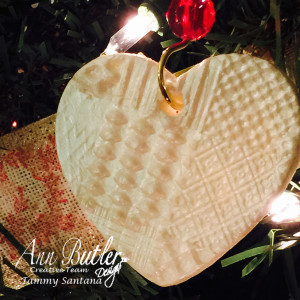 Custom Stamped Christmas Decorations