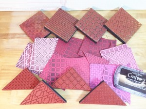 01-16 ABD FAUX QUILTED VALENTINE DOOR DECOR 1