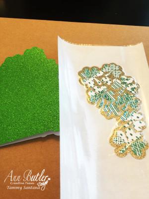 Shamrock Greeting Card3 by Tammy Santana
