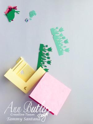 Bunny Card Ann Butler