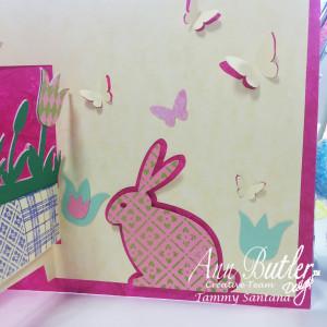 Bunny Card Ann Butler 7