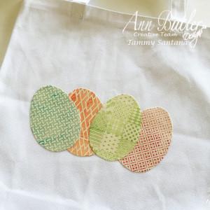 Stamped Easter Tote Tutorial
