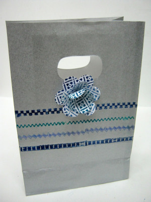Einat Kessler stamped treat bag