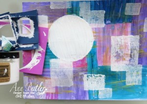 Easy made modern art page with Irit