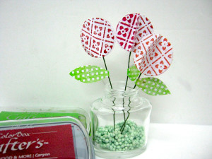 Lollipop Flowers with Ann Butler Background basics Stamps