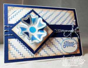 Ann Butler Designs Stitch Stamps Hello