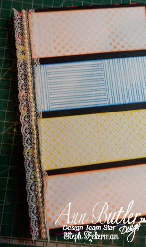 DIY Monogrammed Stamped Planner