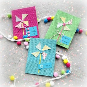 Fun Pinwheel Cards