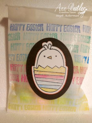 Easter Gift Bag Ann Butler Crafter's Ink